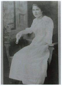 Helena Muffly (the diary's author) in a photo from her granddaughter's blog, A Hundred Years Ago